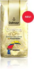 Dallmayr Crema d'Oro Selektion des Jahres, szemes, 1kg