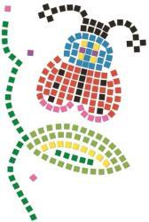 DJECO Mozaic pasarea si buburuza (DJ08894)