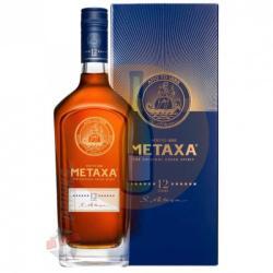 Metaxa 12* díszdobozban 0,7l (40%)