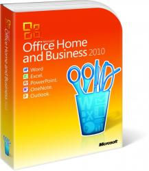 Microsoft Office 2010 Home and Business T5D-01402