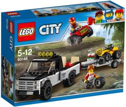 LEGO City Great Vehicles Echipa de curse pe ATV (60148)