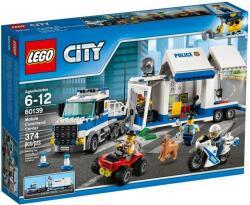 LEGO City Police Centru de comanda mobil (60139)