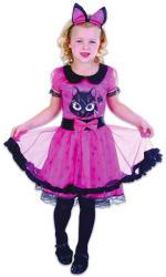 UNIKATOY Cicalány jelmez, pink-fekete - 110-120cm-es méret (902003)
