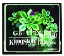 Kingston Compact Flash 133x 32GB CF/32GB-S2