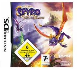 Sierra The Legend of Spyro Dawn of the Dragon (Nintendo DS)