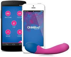OhMiBod BlueMotion NEX 2 okos G-pont vibrátor