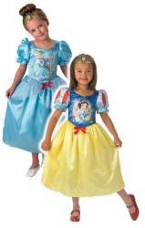 Rubies Disney Hercegnők: Hófehérke, Hamupipőke jelmez - L-es méret (kifordítható) (881861L)