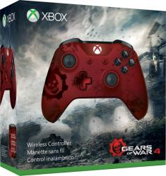 Microsoft Xbox One Wireless Controller Gears of War 4 Crimson Omen WL3-00003