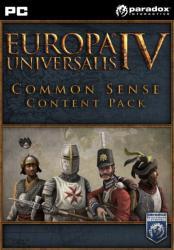 Paradox Interactive Europa Universalis IV Common Sense Content Pack DLC (PC)