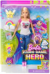 Mattel Barbie - Videojáték kaland - baba 4 minifigurával (DTV96)