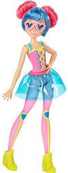 Mattel Barbie - Videojáték kaland - Pink szemüveges baba (DTW06)