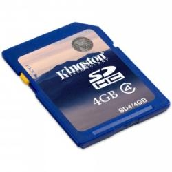 Kingston SDHC 4GB Class 4 SD4/4GB