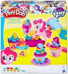 Hasbro Play-Doh Én Kicsi Pónim: Pinkie Pie süti partija - gyurmakészítő szett (B9324)