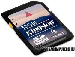 Kingston SDHC 32GB Class 4 SD4/32GB