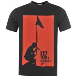 Official U2 férfi póló - sötétszürke