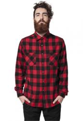 Urban Classics Checked Flanell Shirt blk/red