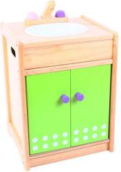 Santoys rózsaszín/zöld mosogató - monkie