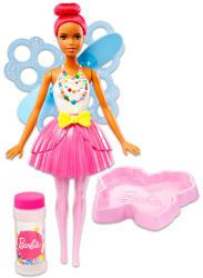 Mattel Barbie - Dreamtopia - pink hajú, kreol buborékfújó tündérbaba (DVM94/DVM96)