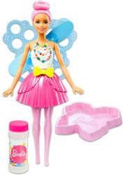 Mattel Barbie - Dreamtopia - rózsaszín hajú buborékfújó tündérbaba (DVM94/DVM95)