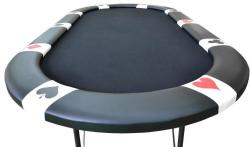 Garthen Póker asztal BLACK EDITION 10 pax - black - idilego