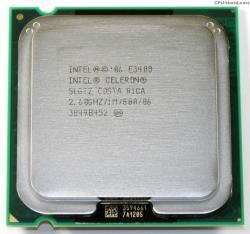 Intel Celeron Dual-Core E3400 2.6GHz LGA775