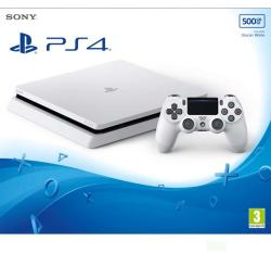Sony PlayStation 4 Slim Glacier White 500GB (PS4 Slim 500GB)