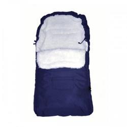 Camicco Sac de iarna pentru carucior cu interior din lana pentru 0-3 ani albastru