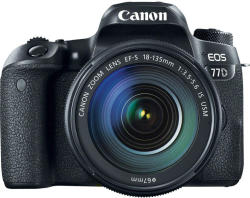 Canon EOS 77D +EF-S 18-135mm IS USM