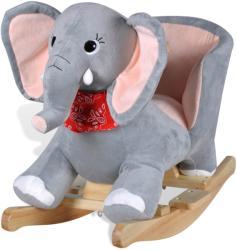 vidaXL Люлеещо се детско столче - слон