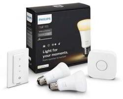 Philips HUE A19 Starter Kit White (929001200101)