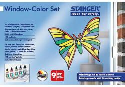 STANGER Set creatie decoratiuni sticla 5 culori/set STANGER Fluture