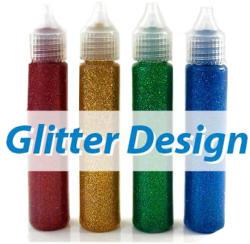 STANGER Culori cu sclipici 4 buc/set STANGER Glitter
