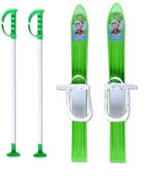 MASTER Детски ски + щеки master, 60 см, зелени