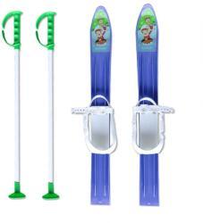 MASTER Детски ски + щеки master, 60 см, сини