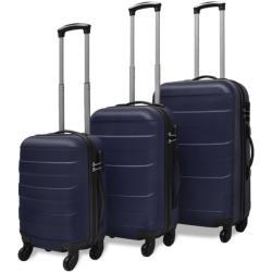 vidaXL комплект от 3 броя куфари 9114