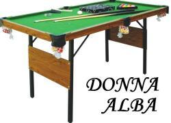Tat Biliard Masa biliard Donna Alba 5ft