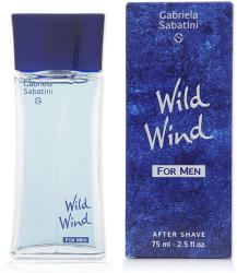 Gabriela Sabatini Wild Wind for Men after shave lotion 75 ml Férfi