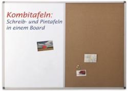 Magnetoplan COMBI BOARD 90X120 cm, whiteboard/pluta, 1240470 MAGNETOPLAN (9600644)