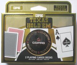Copag Set carti joc Texas Hold`em + buton dealer