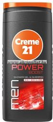 Creme 21 Power Boost tusfürdő és sampon 250ml