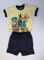 Marty Kids Комплект от две части с къси панталонки, 74, 80