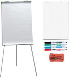 ACCENTA Pachet flipchart magnetic, 70x100 cm cu hartie, markere, burete si magneti, ACCENTA