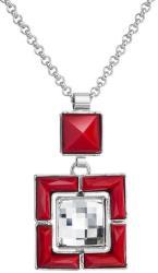 FaBOS Colier cu cristale Swarovski FaBOS, Crystal / Red 7430-5966-03
