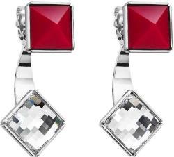 FaBOS Cercei cu cristale Swarovski FaBOS, Crystal / Red 7440-6245-03