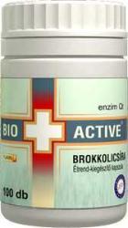 Bio+ Active Brokkolicsíra kapszula (100 db)