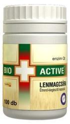Bio+ Active Lenmagcsíra kapszula (100 db)
