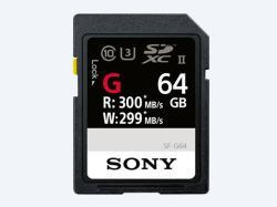 Sony SDXC 64GB C10/UHS-II/U3 SF64G
