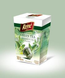 Café René Green Peppermint Tea (10)
