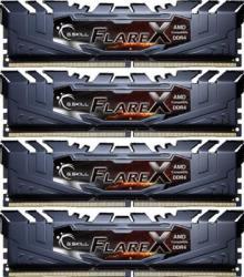 G.SKILL FlareX 64GB (4x16GB) DDR4 2400MHz F4-2400C15Q-64GFX