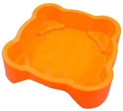 Marian Plast Fedél nélküli homokozó, narancssárga